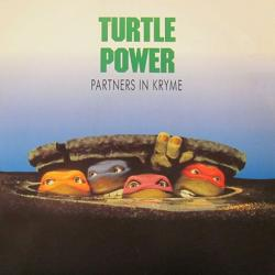 Turtle Power Partners In Kryme picture sleeve